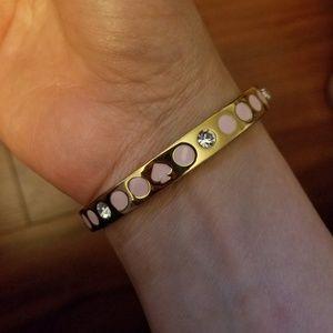 kate spade Jewelry - Kate Spade Spot the Spade Bangle Bracelet